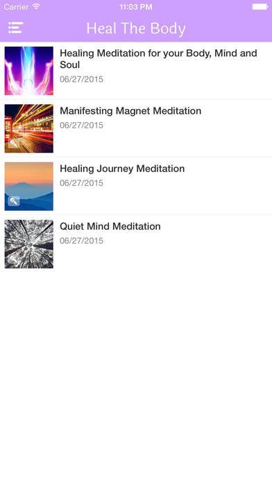 Guided Meditation for Healing the Body, Mind and Soul!-Jafree Ozwald iPhone Screenshot 3