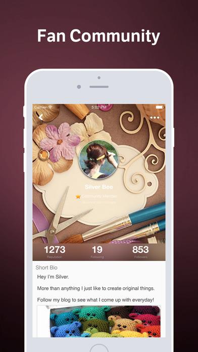 Crafty Amino - Community for Handmade Crafting and DIY screenshot
