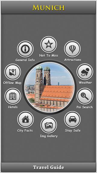 Munich City Map Guide