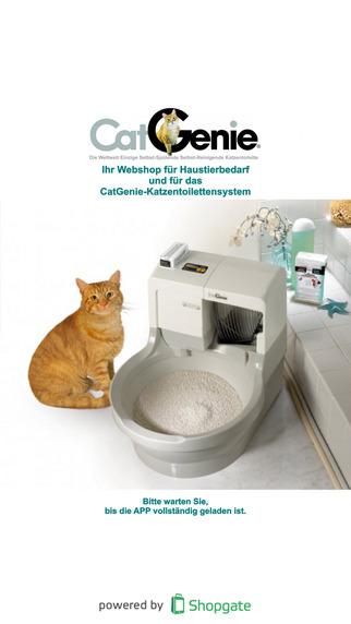 CatGenie-Shop IHR mobiler Webshop für Haustierbedarf
