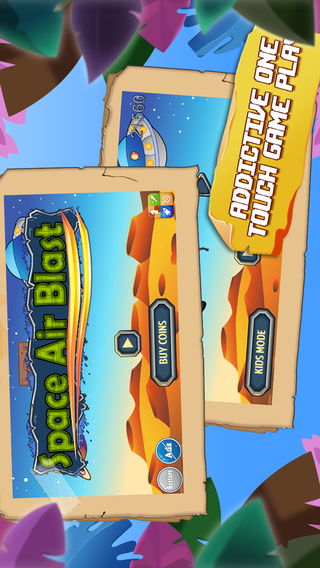 Outer Space Air Blast Free - Super Fun Flying And Shooting Game