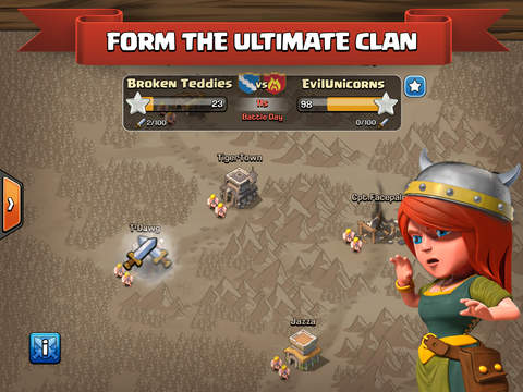 ipad Clash of Clans Screenshot 3