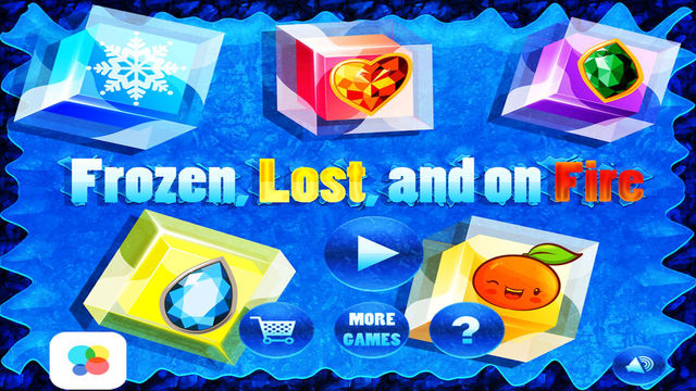Frozen Lost and on Fire Matching Mania – Cubes of Fall Down- Pro