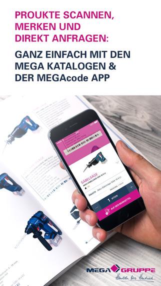 MEGAcode Scanner