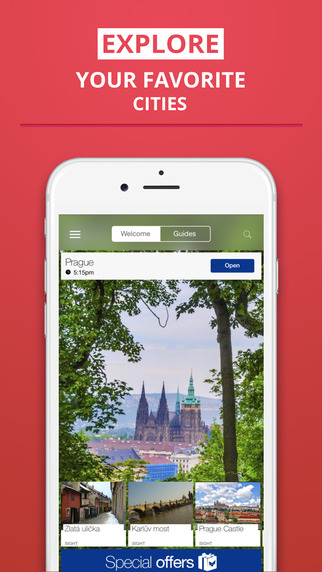 Prague - your travel guide with offline maps from tripwolf guide for sights restaurants and hotels
