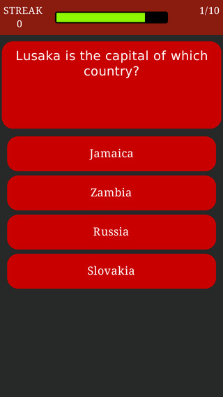 World Capitals Trivia - Geography Quiz about All Countries and Capital Cities