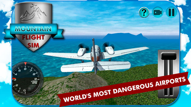 Mountain Flight Simulator 3D