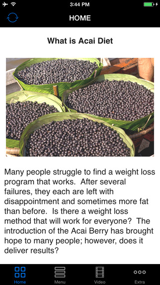 Acai Diet - You Must To Know The Facts