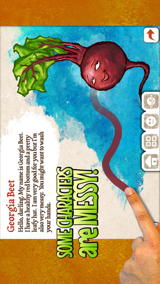 Veggie Bottoms for iPhone Makes Learning About Fruits and Vegetables Fun for Kids