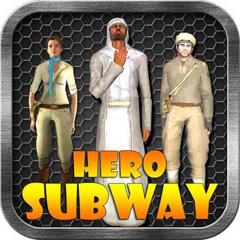 Hero Subway Running 遊戲 LOGO-玩APPs