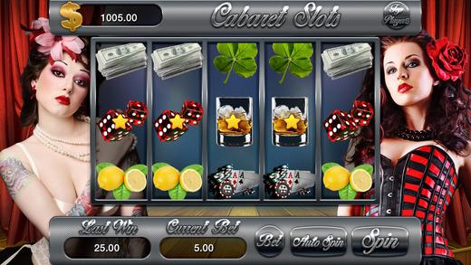 AAA Classic Cabaret Casino Slots Machine - Win Progressive Chips 777 Bonuses Jackpots Macau Bonanza
