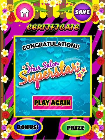 玩免費遊戲APP|下載Holiday Hair Makeover Salon Spa Kids - Fun Free Games for Girls app不用錢|硬是要APP
