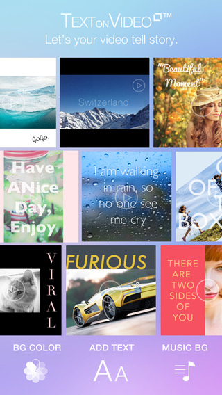 Text on Video Square - Create Awesome Video Text Designs by Add Beautiful Font Put Custom Text Capti