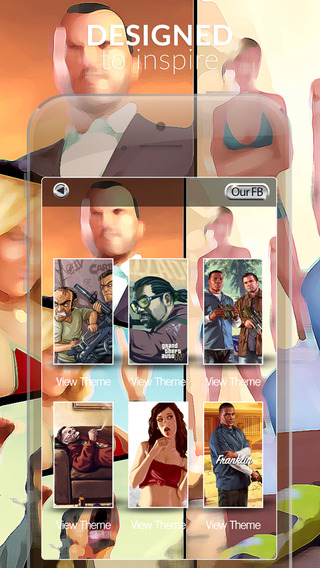 Video Games Wallpapers : HD Action Gallery Themes and Backgrounds For Grand Theft Auto Edition
