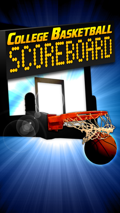 College Basketball Scoreboard iPhone Screenshot 1