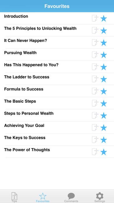 Wealth Expert iPhone Screenshot 3