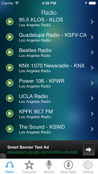 Los Angeles Radio Recorder