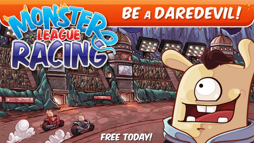 Monster League Racing - Be a Daredevil. Ride Jump Do Stunts. Upgrade Your Ride and Wear a Winning Co