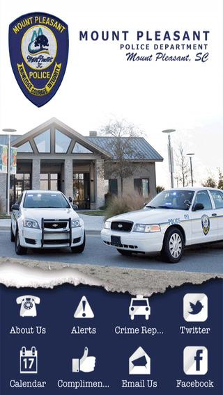 【免費商業App】Town of Mt Pleasant Police Department-APP點子