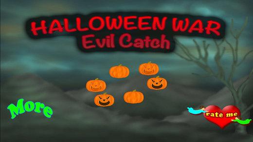 Halloween Catch The Creepy Creatures - Evil Vs Evil