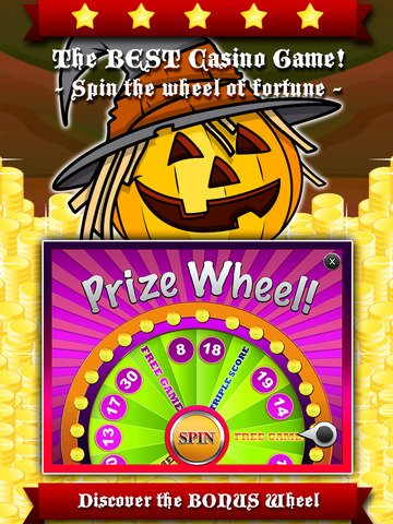 AAA Aardwolf Halloween Slots - Spin lucky wheel to win epic gold price during the xtreme party night-ipad-2
