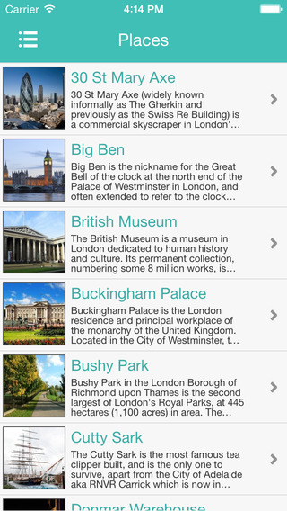 London Places Guide