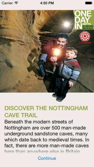 Nottingham Cave Trail