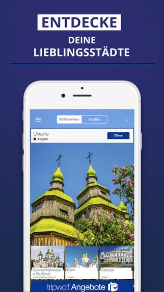 Ukraine - dein Reiseführer mit Offline Karte von tripwolf Guide für Sehenswürdigkeiten Touren und Ho