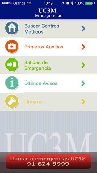 Emergencias UC3M