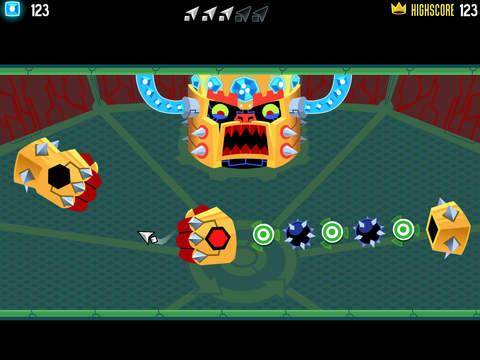 Screenshots of Tilt to Live: Gauntlet's Revenge for iPad