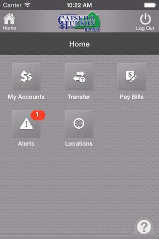 Catskill Hudson Bank Mobile screenshot 3