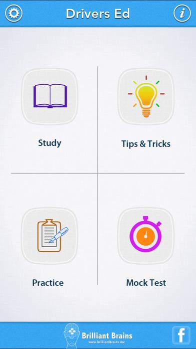 Driver's Ed Lite iPhone Screenshot 1