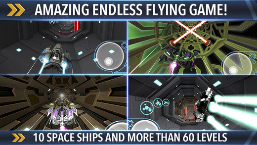 Space Race - Endless Racing Flying Game