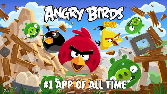 Screenshots for Angry Birds Free