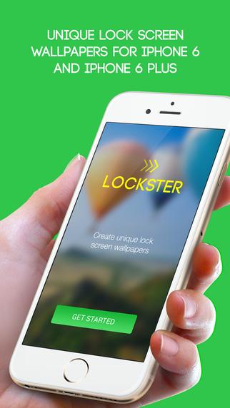 Lockster - Create unique lock screen wallpapers