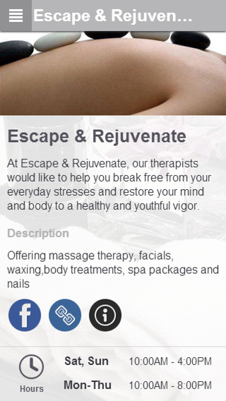 Escape Rejuvenate