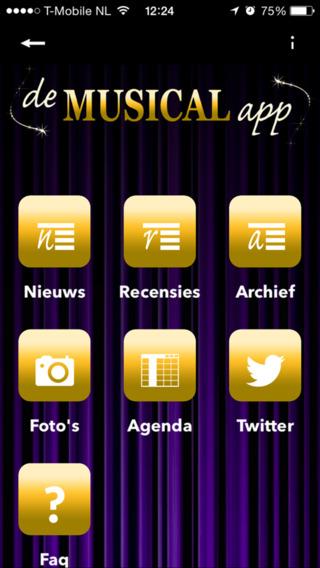 De Musical App