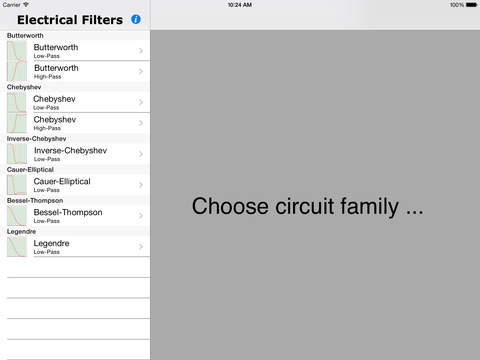 Electrical Filters iPad Screenshot 4