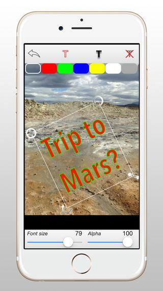 PixiTag Lite iPhone Screenshot 3