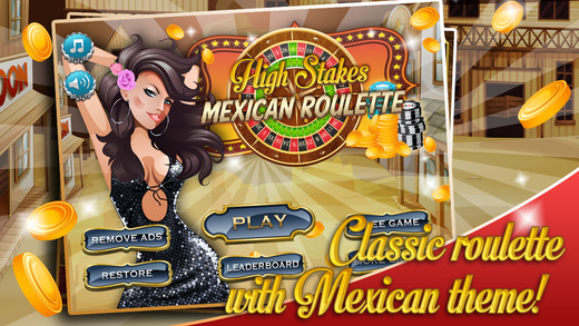 High Stakes Mexican Roulette - Vegas Casino Spin
