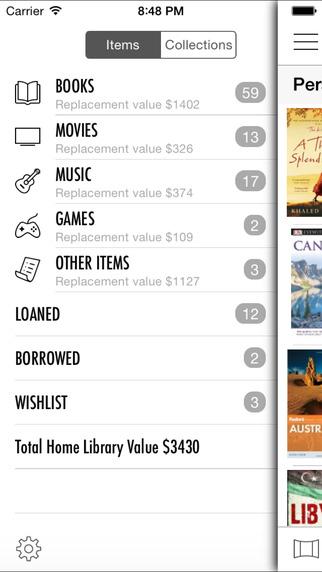 Home Library Lite iPhone Screenshot 1