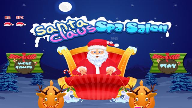 Santa Claus Spa Salon - Christmas Games