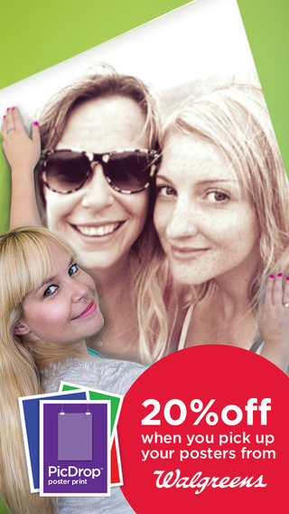 PicDrop Poster Print: Same Day Discount Photo Posters