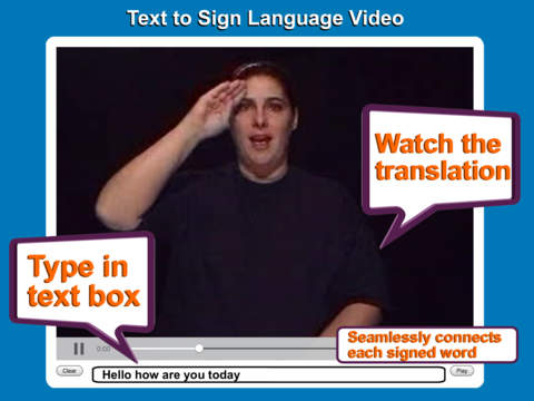 ASL Translator screenshot