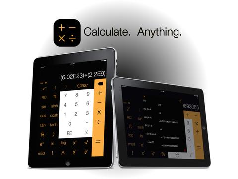 Calculi - Calculator for iPad