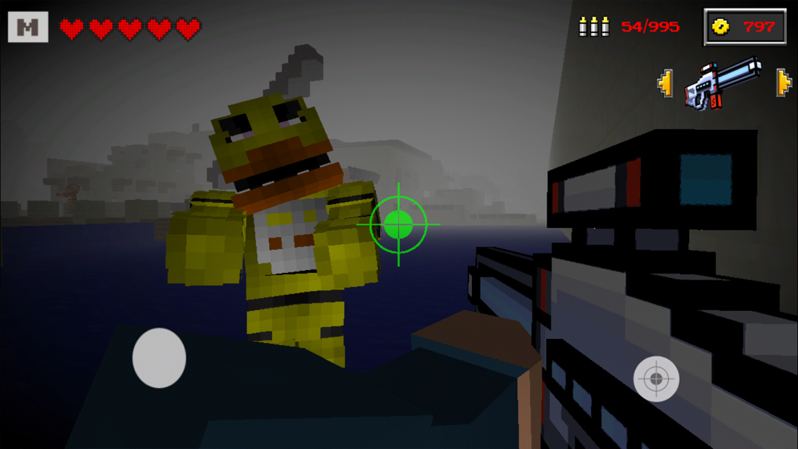 Freddy fazbear survival 3d edition with skin exporter for minecraft