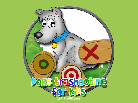 Dogs Trapshooting For children vip iPad Screenshot 1