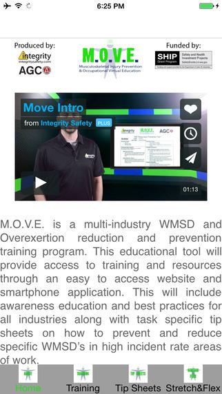 M.O.V.E. Musculoskeletal Injury Prevention