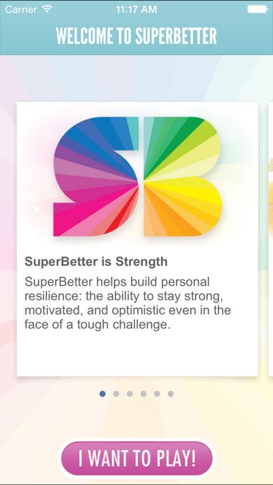 SuperBetter Screenshot