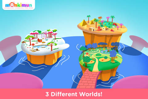 Monki Hide & Seek - Language Learning for Kids and Toddlers app screenshot